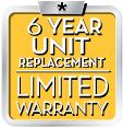 6 Year Unit Replacement Warranty, Daikin Furnaces, Salmon Plumbing & Heating, London, Ontario