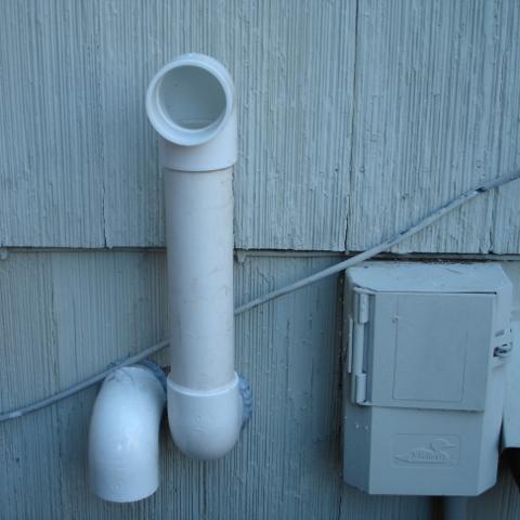 Furnace Exhaust, Salmon Plumbing & Heating, London, Ontario