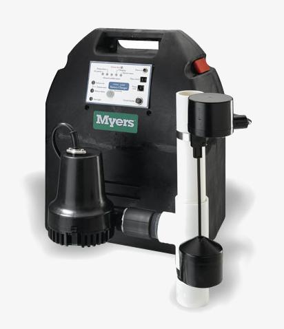 Myers Battery Backup Sump Pumps, Salmon Plumbing & Heating, London, Ontario