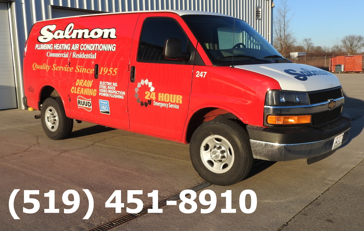 Salmon Plumbing and Heating Service Truck and Phone Numberercice Truck and Phone Number