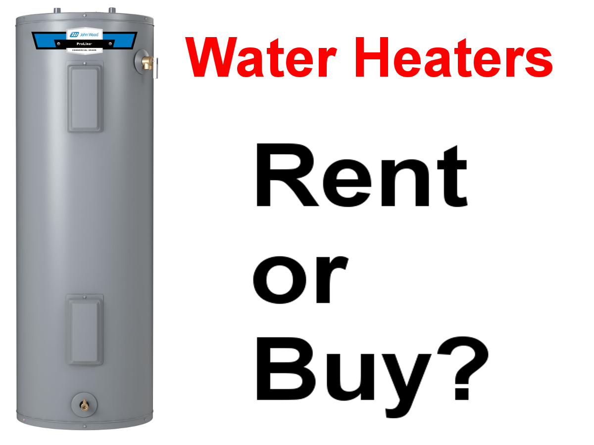 Should you Rent or Buy Your Water Heater?