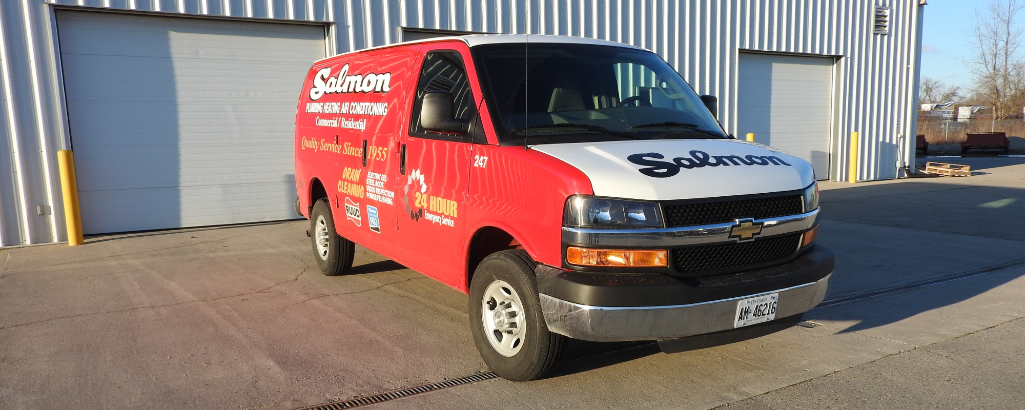 Salmon Plumbing & Heating - Truck