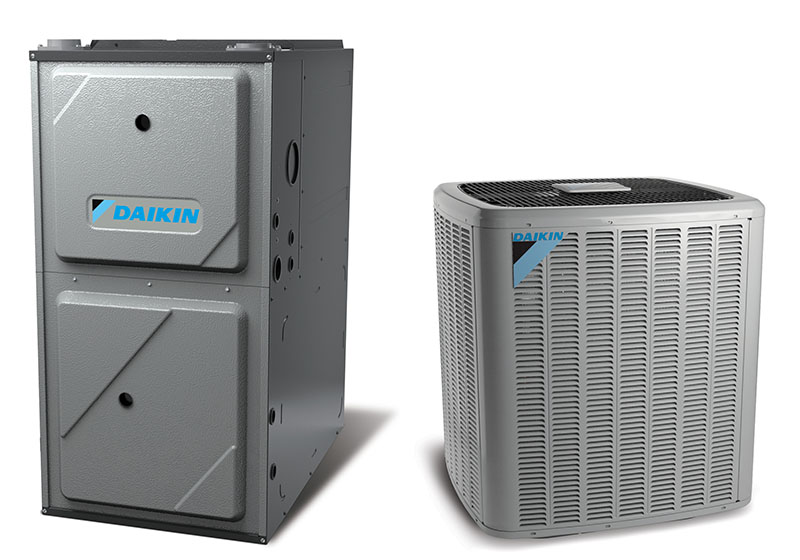 Daikin Furnace + Air
