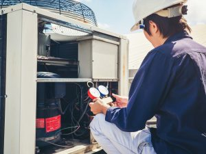 Checking Refrigerant Level in the Air Conditioner