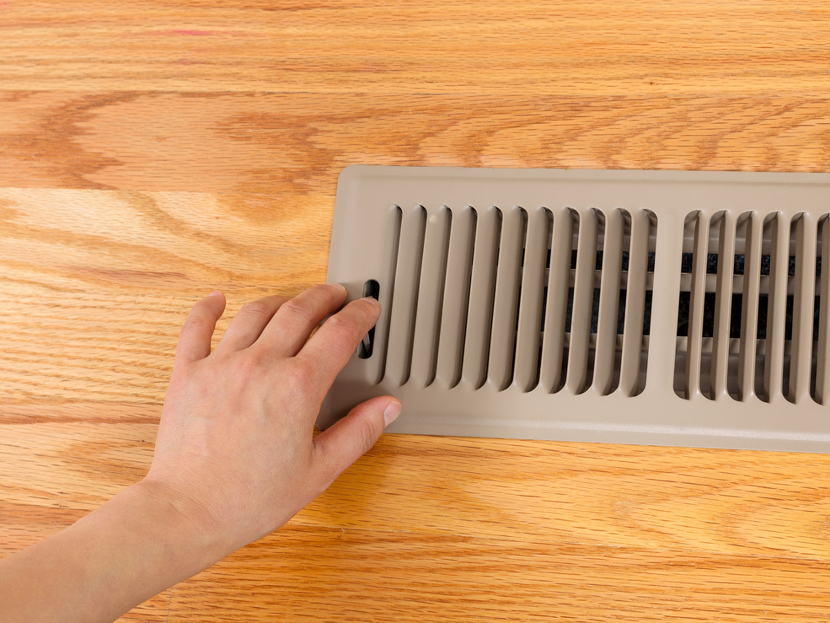 Closing Vents in the Summer
