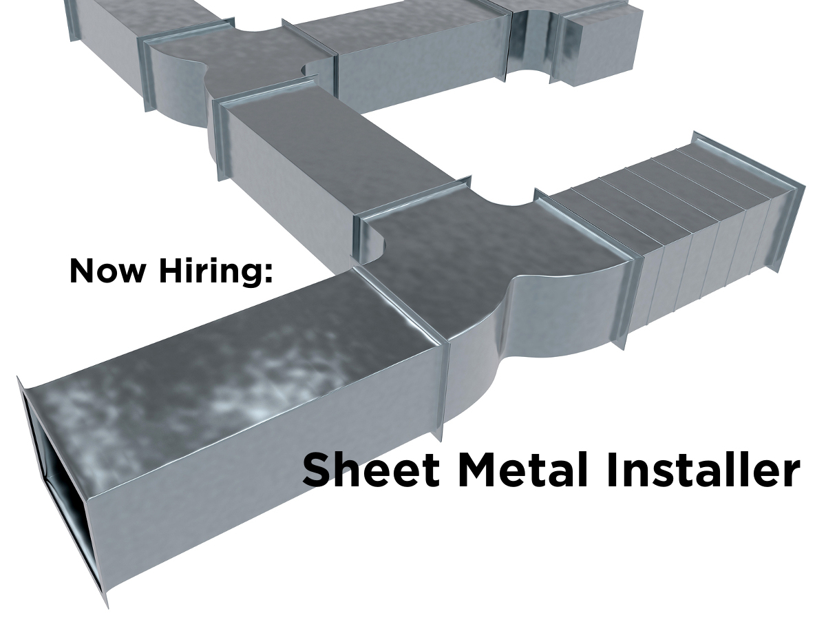 Jobs - Sheet Metal Installer