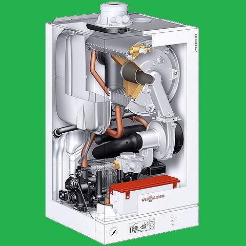 Viessmann gas boilers salmon plumbing heating london on for Viessmann vitodens 100 prezzo